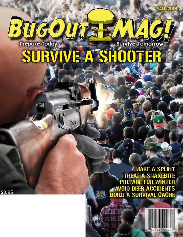 BugOut MAG! Fall 2016 issue